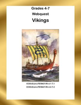 The Vikings  -WebQuest