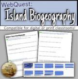 WebQuest Unit 2.3 of APES: Island Biogeography & Habitat F
