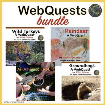 WebQuest and STEAM Challenges Bundle