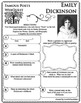 Emily Dickinson - WEBQUEST for Poetry - Famous Poet