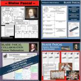 BLAISE PASCAL BUNDLE Math Science WebQuest Research Project Biography