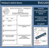 EUCLID Math Science WebQuest Research Project Biography Graphic Organizer