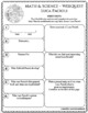 LUCA PACIOLI Math Science WebQuest Research Project Biography Graphic Organizer