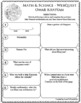 OMAR KHAYYAM Math Science WebQuest Research Project Biography Graphic Organizer