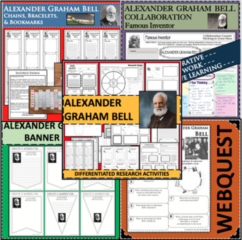 WebQuest in Science - ALEXANDER GRAHAM BELL - Famous Scientist