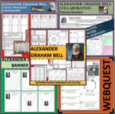 ALEXANDER GRAHAM BELL BUNDLE Science Scientist Research Project Biography