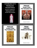 Distance Learning-Ancient China- Bundle of Webquests