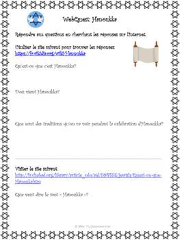 Bundle: WebQuests des célébrations d'hiver