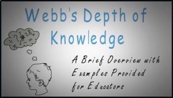 Webb's Depth of Knowledge (Poster Set)