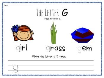 Webb's Wonder Worksheets: Basic Letter Recognition 3