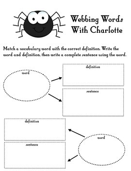 Webbing Words with Charlotte