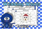 Webbing Words Topics