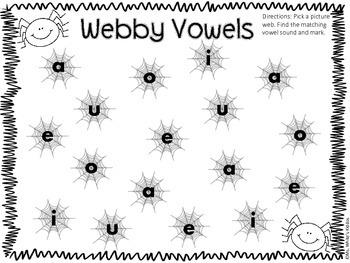 Webby Short Vowel Spin!