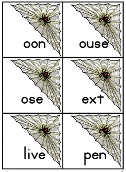 Webby Words: beginning alphabet sounds