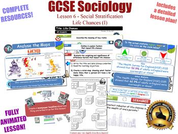 Weber & Life Chances (I) - Social Stratification (GCSE Sociology L6/20) KS4