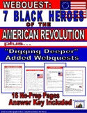 Webquest: 7 Black Heroes of the American Revolution | Dist