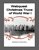 World War 1,WW1, WWI - Christmas Truce - Webquest