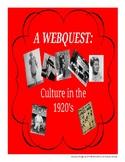 Webquest - Culture of the 1920s