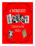 Webquest - Culture of the 1920s