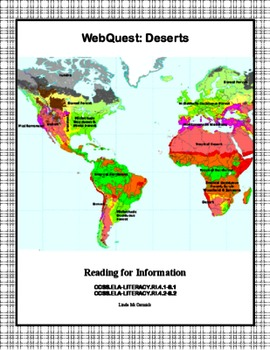 Desert Biome - WebQuest