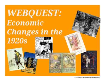 Webquest - Economic changes of the 1920s