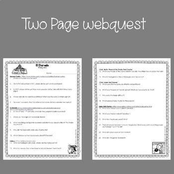 El Dorado Webquest