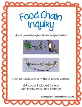 Webquest: Food Chain Inquiry