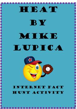 Heat by Mike Lupica Webquest or Internet Fact Hunt