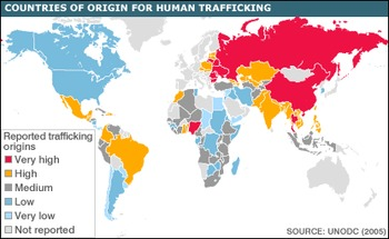 Webquest Human Trafficking Worksheet - Used as intro to Sold -Patricia McCormick