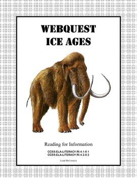 Webquest- Ice Ages