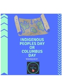 Webquest- Indigenous Peoples Day or Columbus Day