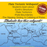 Webquest Interactive Dynamic Earth Site Earth's Structure Plate Tectonics