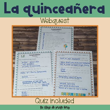 Webquest- La quinceañera