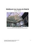 Spanish Webquest: Los Museos de Madrid (Distance Learning)