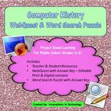 Webquest Scavenger Hunt - History of Computers