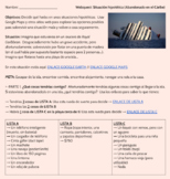 Webquest: Situación hipotética - Abandonado en el Cáribe (