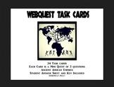 Africa-Ancient Empires -Webquest Task Cards