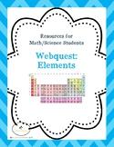 Webquest:  The Elements