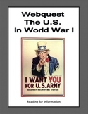 The United States in World War 1-Webquest