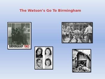 Webquest: The Watsons Go To Birmingham