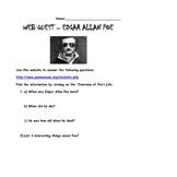 Webquest of Edgar Allan Poe