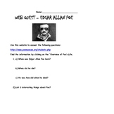 Webquest of Edgar Allan Poe