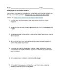 Webquest on Shakespeare's Globe Theatre