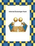 Webquest or Internet Scavenger Hunt  Grades 5-10