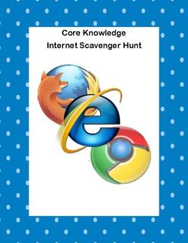 Webquest or Internet Scavenger Hunt  Grades 5-10-Core Knowledge