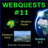 Webquests #11 | Weather Radar & Deepest Hole Activities (Grades 3-7)