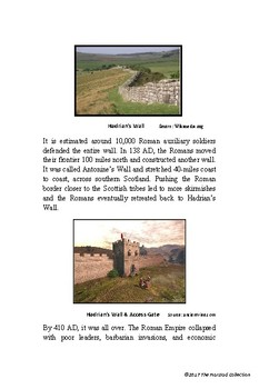 Webquests #14 | Time & Date and Hadrian's Wall (Grades 3-7)