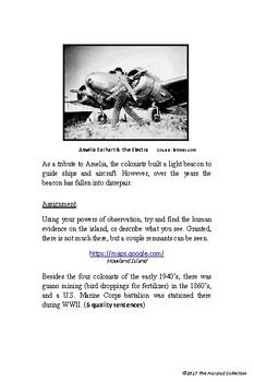 Webquests #15   Howland Island & Roanoke's Lost Colony (Grades 3-7)