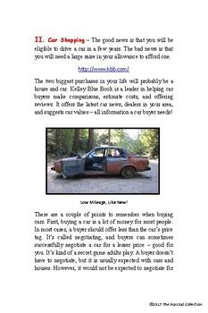 Webquests #18 | Home Depot vs. Lowe's & Car Shopping (Grades 3-7)