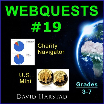 Webquests #19 | Charity Navigator & U.S. Mint (Grades 3-7)